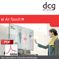 dcg display air touch